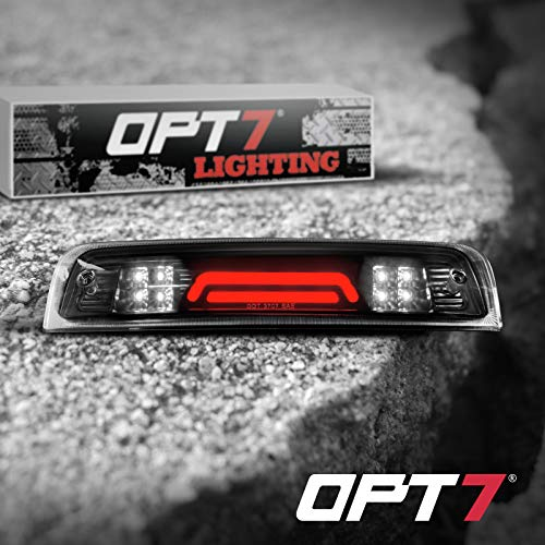 OPT7 09-17 For Dodge Ram LED 3rd Brake Light Cargo Light Upgrade- Tube/Smoked housing Runner Series-High Power Cree XM