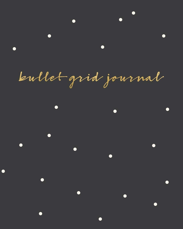 Download Bullet Grid Journal: Polka Dot, 150 Dot Grid Pages, 8x10, Professionally Designed pdf