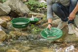 SE Prospector's Choice Gold Panning Kit and 2 Green Pans (7 PC.) - GP5-KIT107