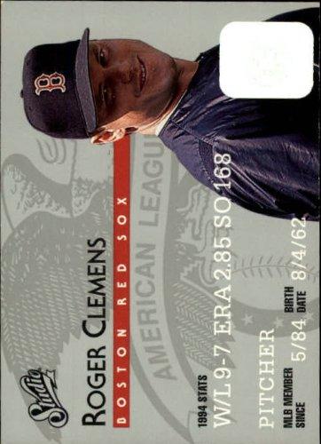 (1995 Donruss Studio Baseball Card #16 Roger Clemens )