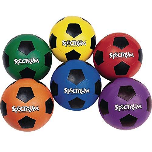 Spectrum Rubber Soccer Ball Set (set of 6) -