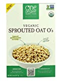 One Degree Organic Foods Veganic Sprouted Oat O's -- 8 oz - 3PC