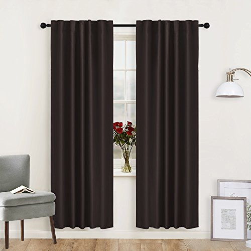 Cheap  RYB HOME Curtains Blackout Panels Living Room New Design Back Tab/Rod Pocket..