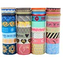 Yutian Washi 40 Rolls Masking Tape Set
