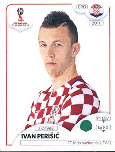 2018 Panini World Cup Stickers Russia #331 Ivan Perisic Croatia Soccer Sticker