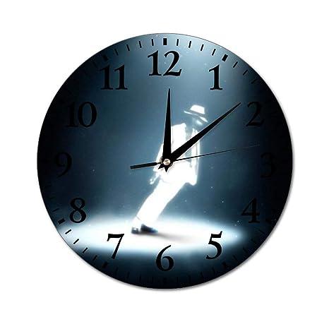 Amazon|Michael Jackson Wall Clock 円型直径25 CM 掛け時計