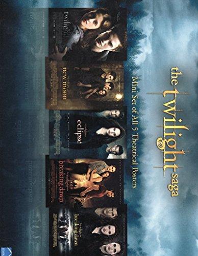 The Twilight Saga S/S Movie Poster Set 8.5x11