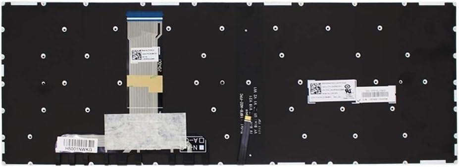 Laptop Keyboard US Keyboard with Backlight for Lenovo Legion Y520 Y520-15IKB Y720 Y720-15IKB R720 R720-15IKB Black Color : Black
