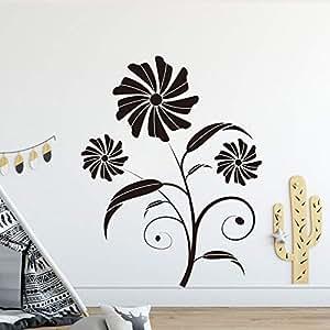 BFMBCH Flor Ratán Papel pintado Pegatinas de pared Vinilo ...