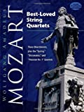 Best-Loved String Quartets, Wolfgang Amadeus Mozart and Music Scores, 0486474984