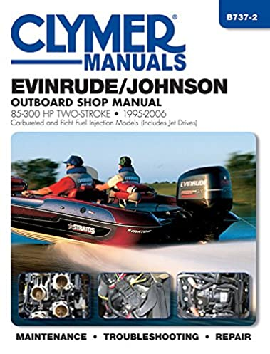 evinrude johnson 85 300 hp two stroke 1995 2006 outboard shop rh amazon com Johnson Outboard Motor Models Website Johnson Outboard Parts Diagram