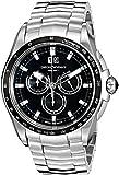 Emporio Armani Swiss Made Men's ARS9100 Analog Display Swiss Quartz Silver-Tone Watch