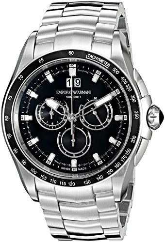 Emporio-Armani-Swiss-Made-Mens-ARS9100-Analog-Display-Swiss-Quartz-Silver-Tone-Watch