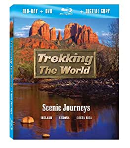 Trekking the World: Scenic Journeys [Blu-ray plus DVD and Digital Copy]