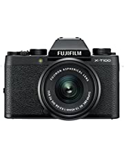 Fujifilm X-T100/ XC15-45mm Kit, Black