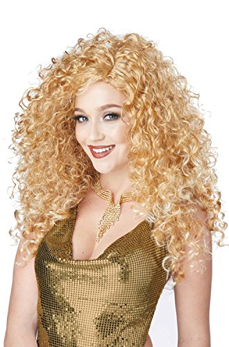 [California Costumes Women's Disco Diva Do Wig, Dirty Blonde, One Size] (Lady Reaper Costumes)