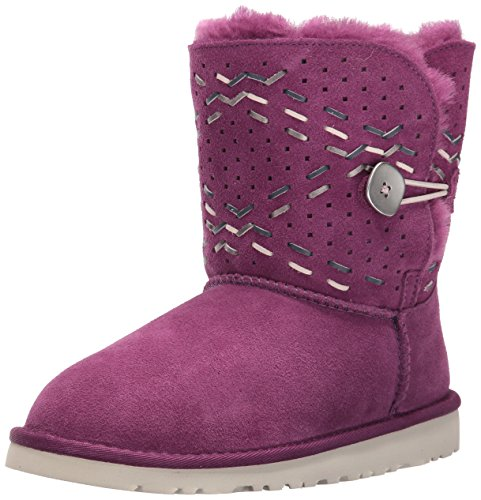 UGG Kids' Y Bailey Button Tehuano Pull-on Boot - Purple P...