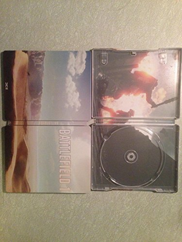 Battlefield 1 Collectors Edition Steelbook  No Game   G2 Blu Ray Size