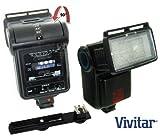Vivitar SF4000 Bounce Zoom Slave Flash Enhance Photos, Colors & Saturation For The Nikon D5000, D3000 Digital SLR Cameras