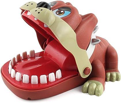Sipobuy Shar Pei Perro Dentista Mordida Dedo Juguete Divertido Juguete Tricky Juego de Mesa Divertido Interactivo Kids Family Toys Party Favor Cumpleaños: Amazon.es: Juguetes y juegos