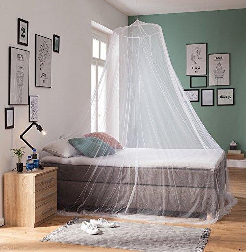 PRS RSP Travel XXL - Mosquitera para camas de matrimonio o individuales blanco blanco Talla:0.60 x 2.5 x 12.5 m: Amazon.es: Deportes y aire libre