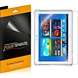 [3-Pack] SUPERSHIELDZ- High Definition Clear Screen Protector for Samsung Galaxy Note 10.1 inch + Lifetime Replacements Warranty [3-PACK] - Retail Packaging