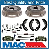 Mac Auto Parts 144236 Rear Brake Drums Shoes Spring Kit Wheel Cylinder Town & Country Caravan Grand