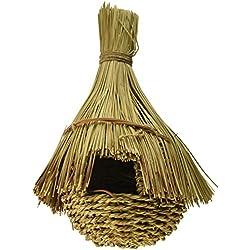 Prevue Pet Products BPV1173 Jumbo Grass Hut Bird Nest, X-Large