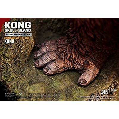 Star Ace Toys Kong Skull Island: Kong (Deluxe Version) Soft Vinyl Statue: Toys & Games