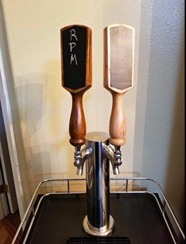 Premium Chalkboard Beer Tap Handles by Adult Pop (Cherrywood) by Adult Pop (Image #4)