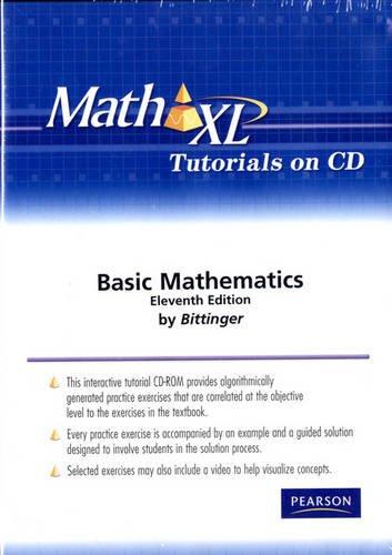 MathXL Tutorials on CD for Basic College Mathematics