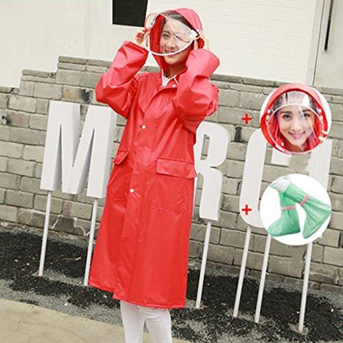 Xxxl Mode Long C Imperméables Manteau Poncho Extérieur Femmes Imperméable Pour Femmes Taille Adulte Voyage couleur Raincoat H ZCqw40C