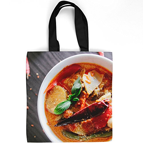 Westlake Art - Food Curry - Tote Bag - Picture Photography Shopping Gym Work - 16x16 Inch (D41D8)