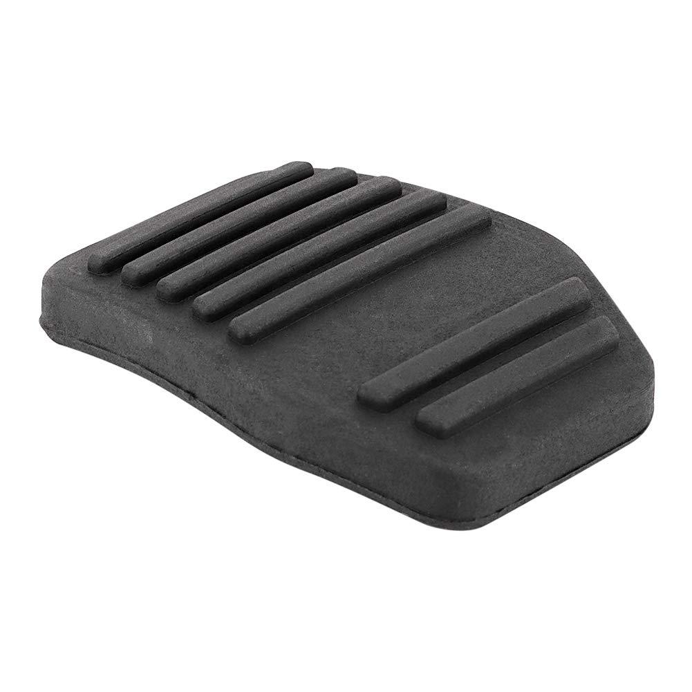 Aramox Clutch Pedal Cover Pad,6789917 Pair of Brake Rubber Clutch Pedal Cover Pad for Transit Cougar