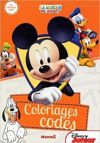 Ebook anglais téléchargement gratuit La maison de Mickey - Mes coloriages codés PDF ePub iBook 250803259X