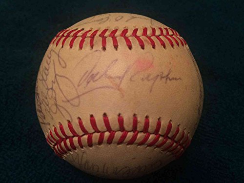 Baltimore Orioles Team Signed Baseball (1987 Baltimore Orioles Team Signed Autographed Baseball - 29 Signatures w/Eddie Murray PSA/DNA)