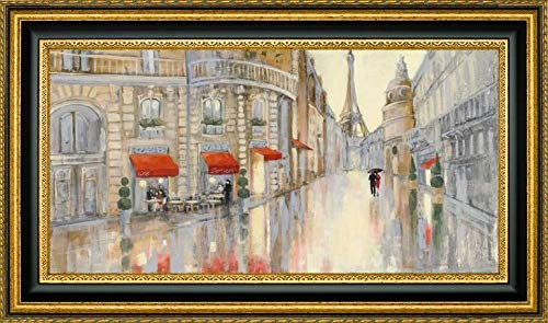 - Touring Paris Couple by Julia Purinton - 13.25