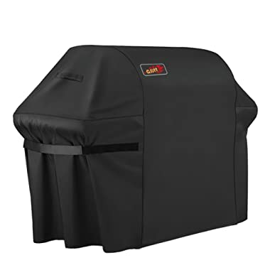 VicTsing Grill Cover, 64-Inch Waterproof, Heavy Duty Gas Grill Cover for Brinkmann, Char Broil, Holland and Jenn Air