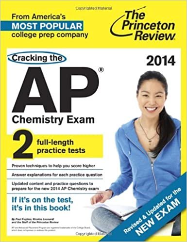 Download Cracking The Ap Chemistry Exam 2014 Edition By Princeton