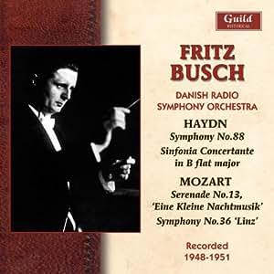 Busch Conducts Haydn & Mozart
