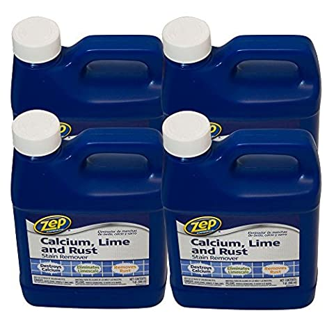 ZEP 32 oz. Calcium, Lime and Rust Remover (Case of 4) (Zep Stain Remover)