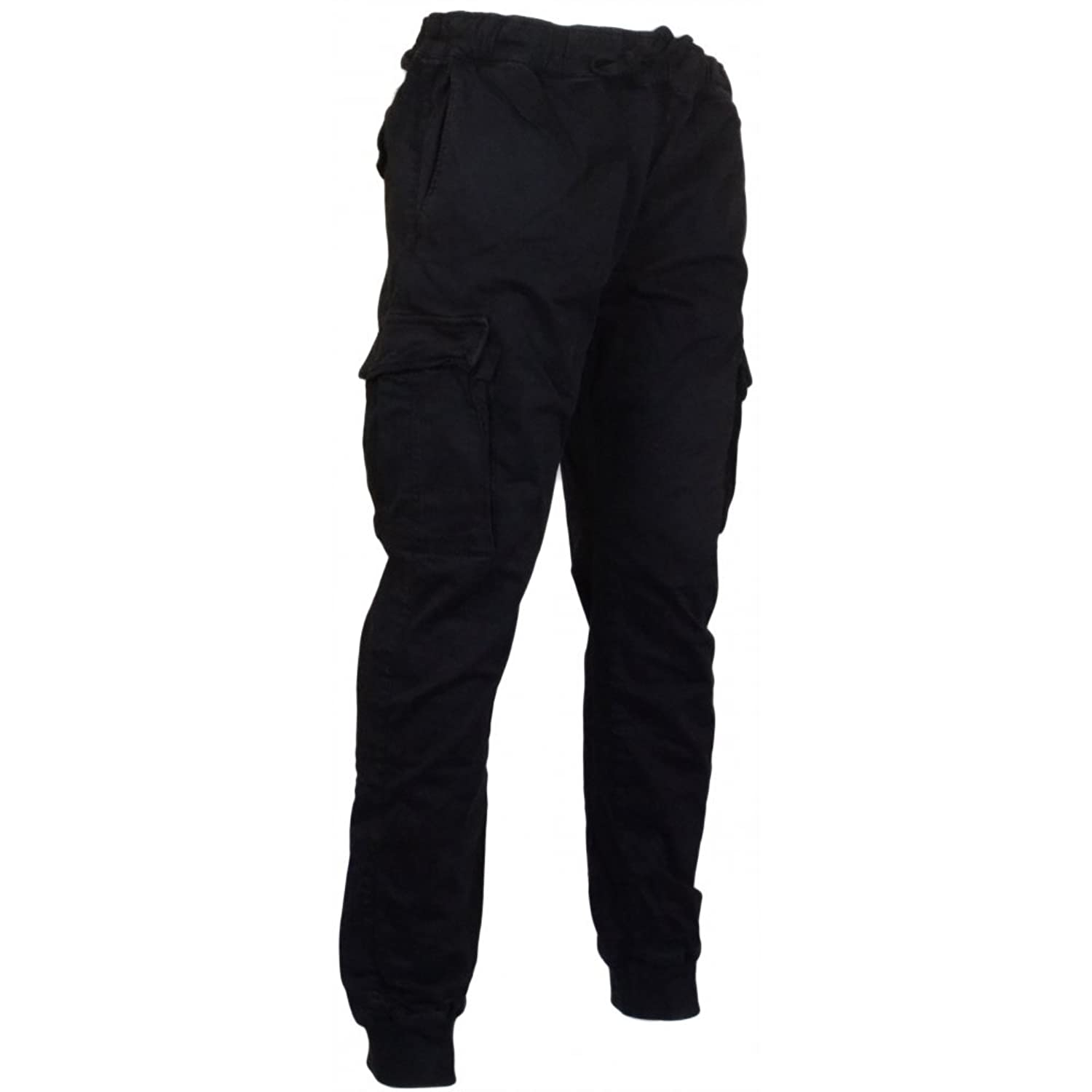 Franklin & Marshall Guyle Active Stretch Black Combat Trouser