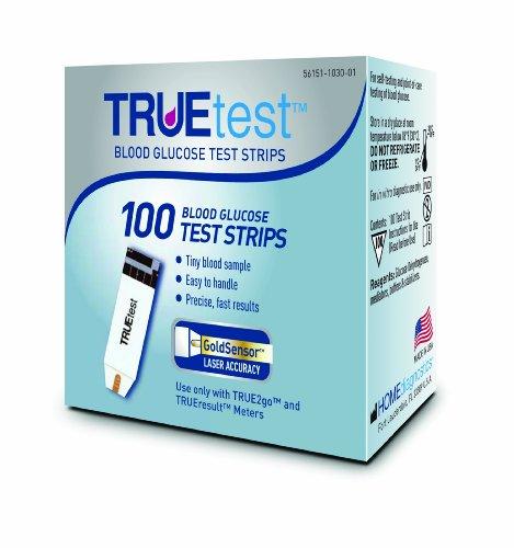 TrueTest bandelettes de test, 100 comte