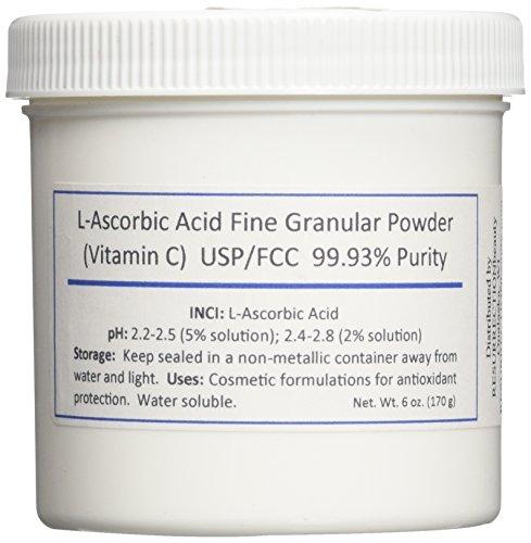 Ascorbic acid powder for face