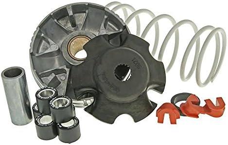 6,10g Gewichte: 19x15,5mm Variator Malossi Multivar 2000 Piaggio Zip 4T 50cc Gegendruckfeder: Weiss Liberty 4T 50cc