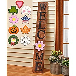 LTD 10-Pc. Interchangeable 5-Ft. Welcome Sign