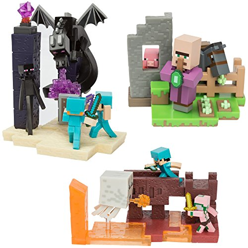 Minecraft Craftables Series 1 Blind Box Lot Of (4) Sealed ...