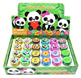 TINYMILLS 24 Pcs Panda Stampers for Kids