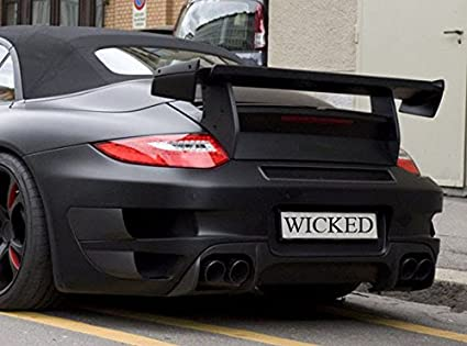 Amazon.com: Porsche 997 Turbo TechArt GT Street R Trunk Spoiler Wing & Carbon Fiber Trim: Automotive