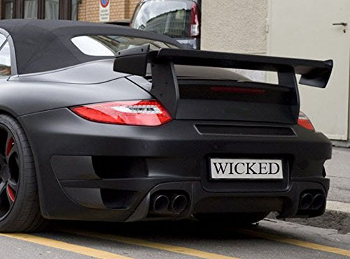 Amazon.com: Porsche 997 Turbo TechArt GT Street R Trunk Spoiler Wing & Carbon Fiber Trim: Automotive